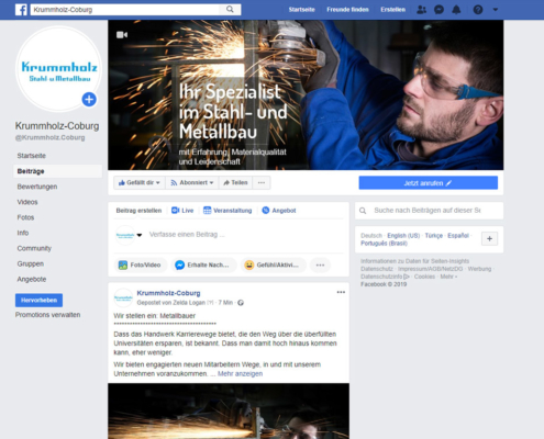 Krummholz bei Facebook