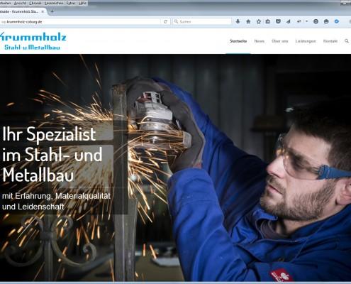 Neue Krummholz Webseite 2016